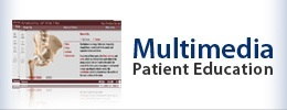 Multimedia Patient Education - Joint Replacement Associates