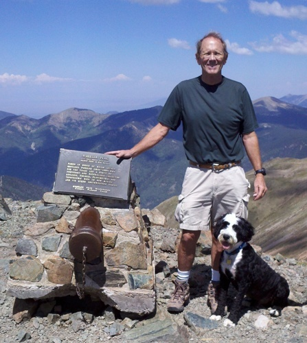 Patient climbs Wheeler Peak, 13,161 ft, the highest point in NM twice in one week after total knee replacement.